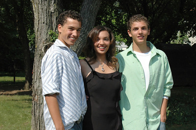 Cristy with her brothers, Anthony and Christopher!