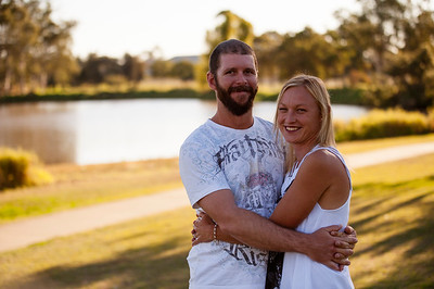 Contry Couple Engaged