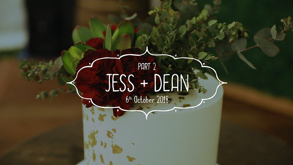 Part_2_Jess_and_Dean_Long_version_1080P_She_Said_YES-Wedding_Videography