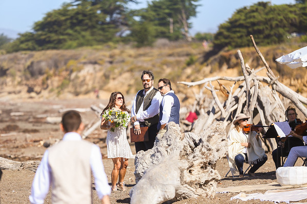 Destination Wedding In Small Coastal Towin of Cambria, CA
