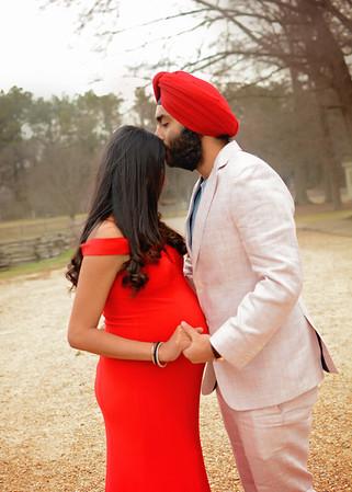 Karan & Simran {maternity}