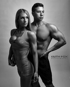 Kasey Wilson & Chris0158BW