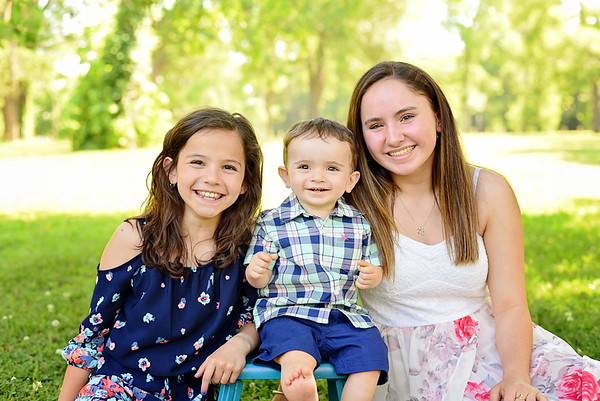 Kaylee, Miranda & Cayden {spring-mini}