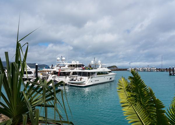 MMPI_20200908_MMCK0074_0005 - Luxury yachts moored at the marina.