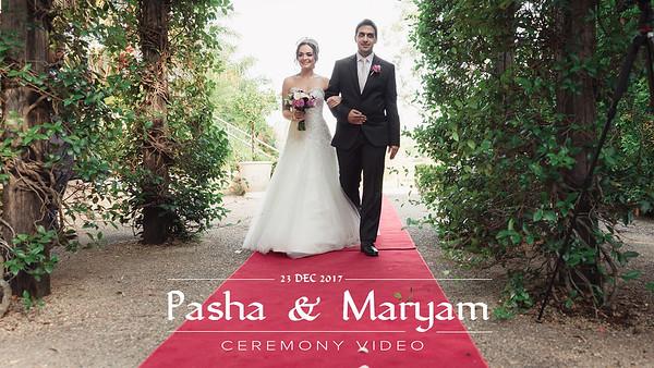 Part 1 - Maryam & Pasha Wedding Ceremony