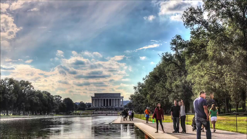 Lincoln Memorial Time Lapse