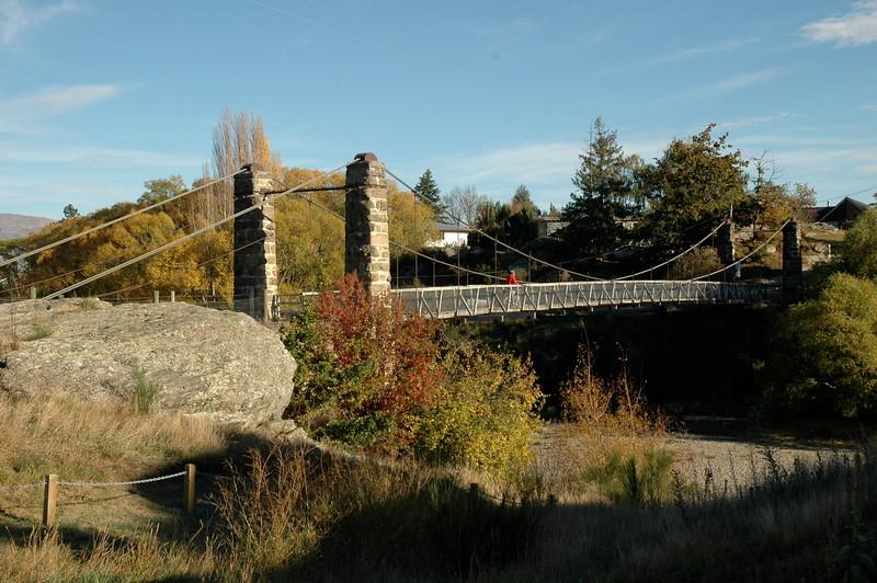 Alexandra Shaky Bridge autumn