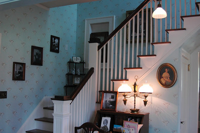 Stairs to the bedroom!  (upstairs was inaccesible)