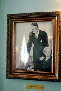 Billy Graham with his parents!