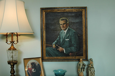 Painting of Billy Graham!