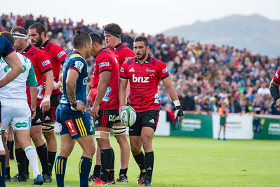 Super Rugby Highlanders Vs Crusaders, Waimumu, Gore 15 February 2018
