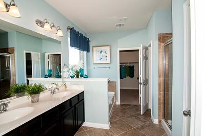 Carissa - Master Bath and Closet - toilet has door