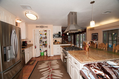 Kitchen with Propane stove