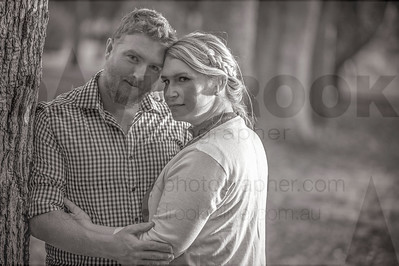 Toowoomba Engaged Couple