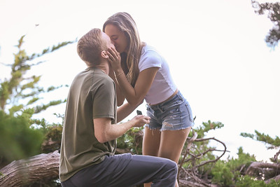 Surprise Proposal and Engagement PHotos