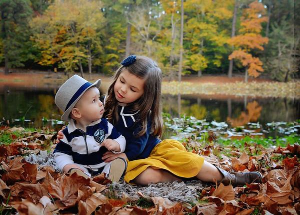 Savannah & Miles {fall mini}