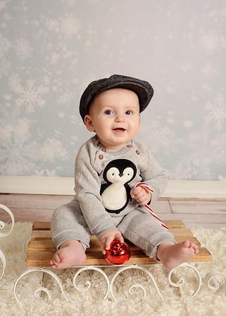 Savannah & Miles {holiday mini}