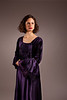 Portrait Photography of Matthew Upson Woman in purple dress