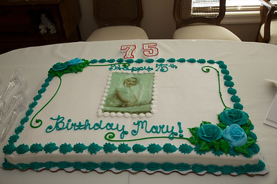 Mary's 75th Birthday Party