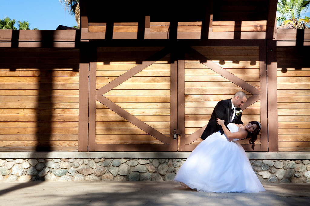 Larissa Anne Photography was able to meet Desiree through her bank in Corona California. Desiree and Nick were a beautiful couple and this wedding was one of two that Larissa Anne Photography and Russell Hebert Photography shot on this day. It was the first time for both Larissa and Russell shooting two weddings in a day. This couple made this day fun. Their ceremony was located at the Historic Citrus Park in Riverside California. Although their ceremony was in the middle of the day it was filled with beautiful scenery and made this entire wedding amazing! Southern California wedding photography is a blessing to do
