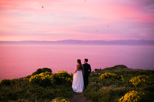 Kristin and Scott Anacapa Styled Shoot