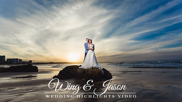 Wing and Jason - videography by She Said YES! wedding photography