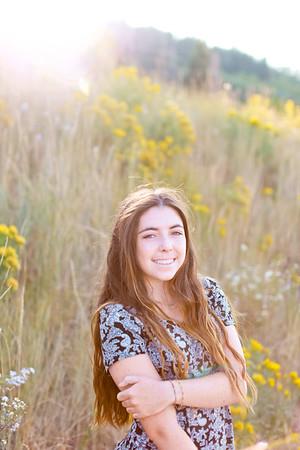 Outdoor Senior Portrait Photos