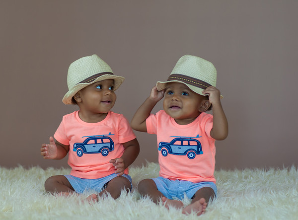 Braylen + Breyon | 1 Year Baby Portrait & Cake Smash