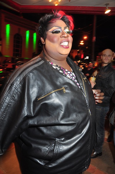Latrice Royale arrives for the big night!