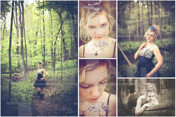 Senior Photos Collage-Joliet Senior Photographers