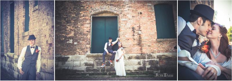 Joliet IL Artistic Vintage Wedding Photography