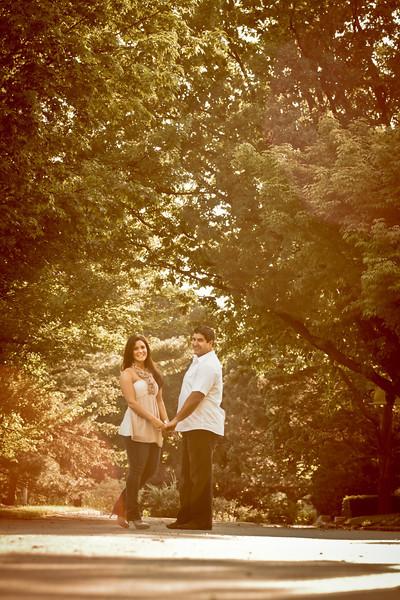 Elmhurst IL Engagement Photos - Chicago Wedding Pics Photographer<br /> couple standing under tree at engagement session