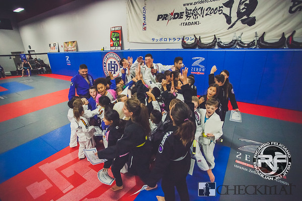 Kids BJJ belt promotions 2016