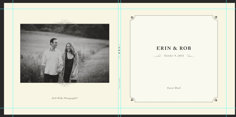back cover and front cover