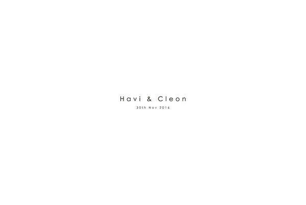 Wedding Day - Havi and Cleon