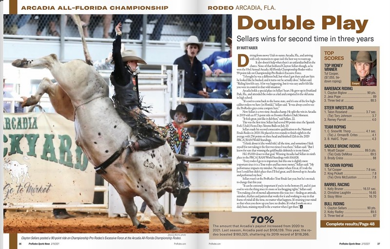 ProRodeo Sports News Publication March 19 & April 2, 2021