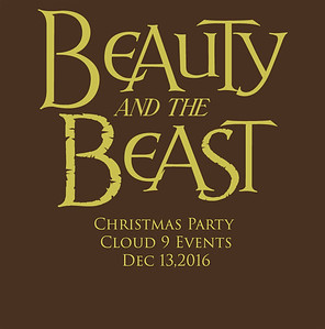 Beauty and the Beast Christmas Party