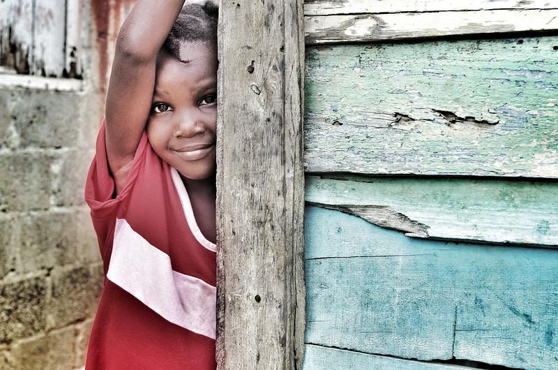 """Shy Girl""   (Dominican Republic)  (c)Chip Walker"
