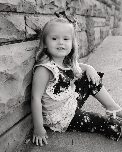 Aubree is 3!