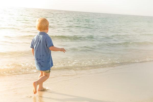 Lynsey at the Beach