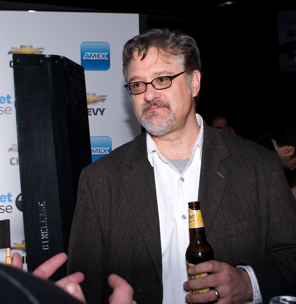 David Bunnell, creator of PC Magazine, at the Tweet House SXSW 2011 party.