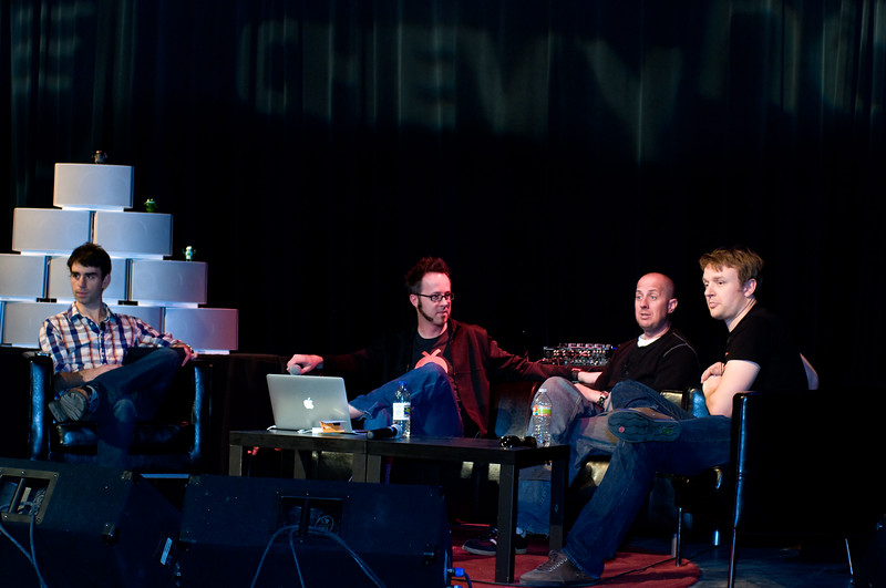 "Jason Preston (Tweet House), William ""Whurley"" Hurley (Chaotic Moon Studios), Oren Jacob (Pixar), Evan Doll (Flipboard)"