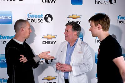 Oren Jacob (Pixar), Tom Dickson (Blendtec), & Evan Doll (Flipboard).