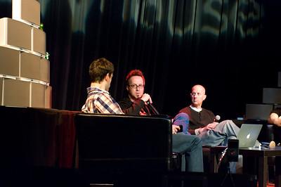 "Jason Preston (Tweet House), William ""Whurley"" Hurley (Chaotic Moon Studios), Oren Jacob (Pixar)."