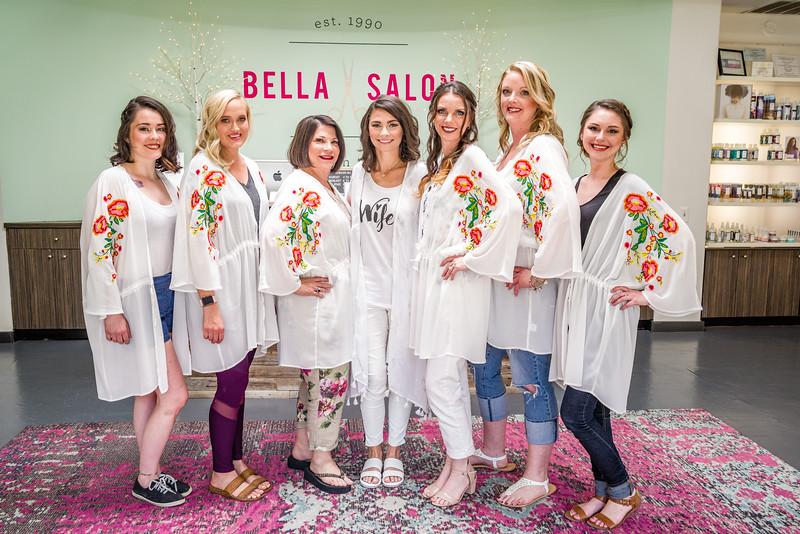 Before Palazzo Lavaca, there is Bella Salon.