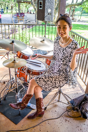 """Me: """"Tell me you're the drummer."""" ---- She: """"I'm the drummer."""""""