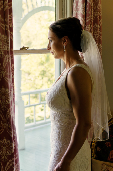 Bride at window. Barr Mansion, Austin, TX.