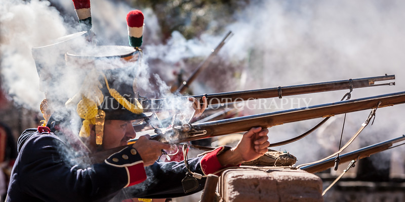 Battle of Bejar in La Villita, San Antonio. Hosted by the San Antonio Living History Association. Images taken by Muñillar Photography, to see more of our work, visit www.munphoto.com