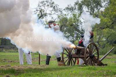Texas in Revolt: 1835. Hosted in Kirby, Tx. Battle of Concepcion sponsored by the San Antonio Living History Association. To see more photos, visit www.munphoto.com To contact us, email munillarphotography@gmail.com