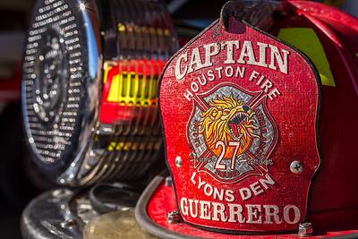 Captain Guerrero's helmet